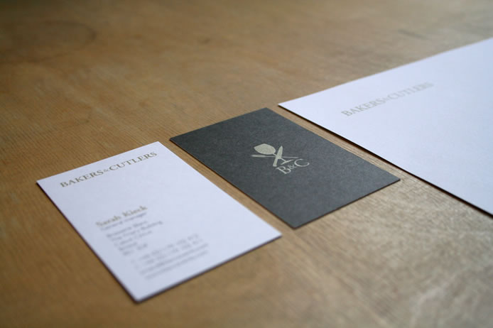 Blanc Events stationery