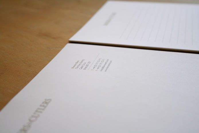 Blanc Events letterhead