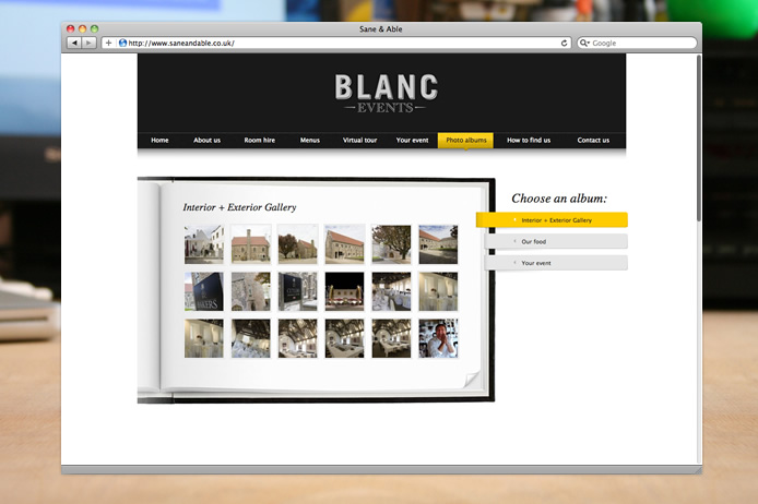 Blanc Events gallery