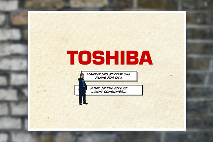 Toshiba flash presentation