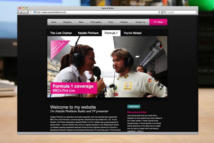 Natalie Pinkham website