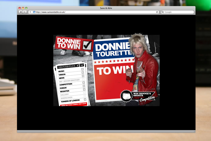 Donnie Tourette big brother website