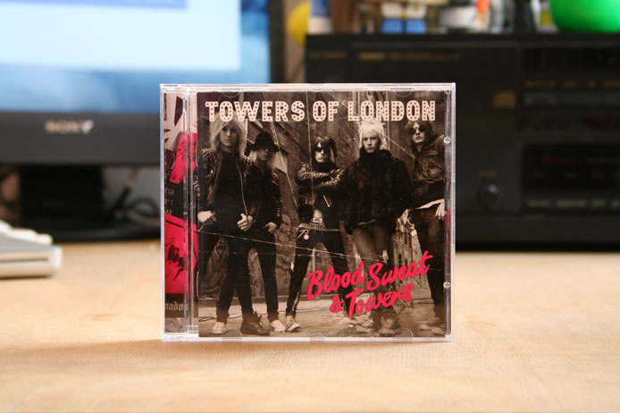 Towers of London album design