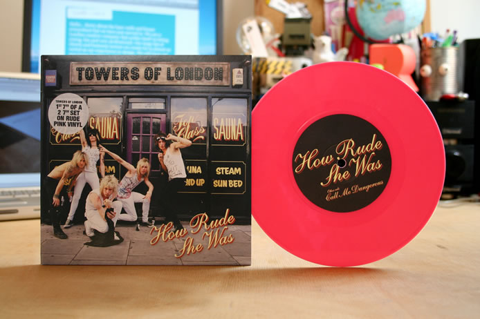 Towers of London coloured vinyl