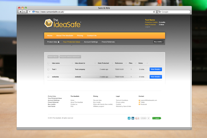 the-ideasafe-website-protected