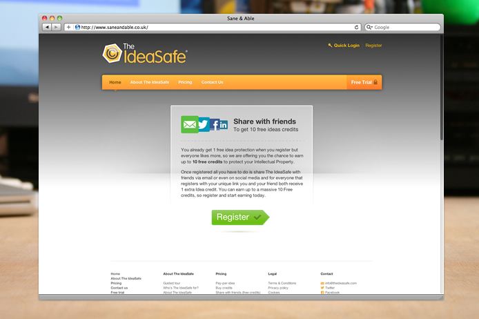 the-ideasafe-website-share