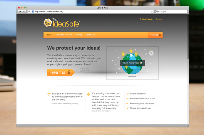the-ideasafe-website